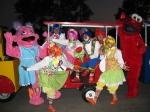 train clowns